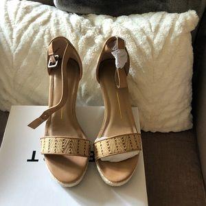 NWT Wedge Sandal